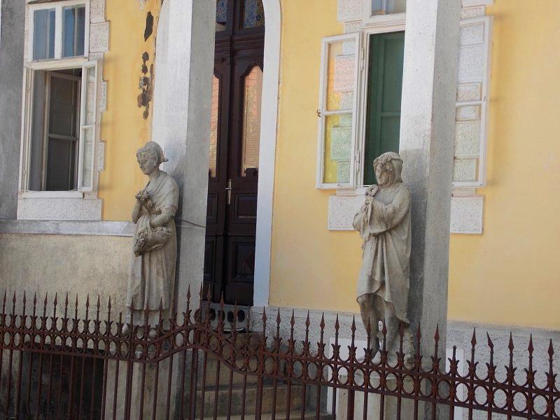Sculptures Djukanovic Family Home Cetinje