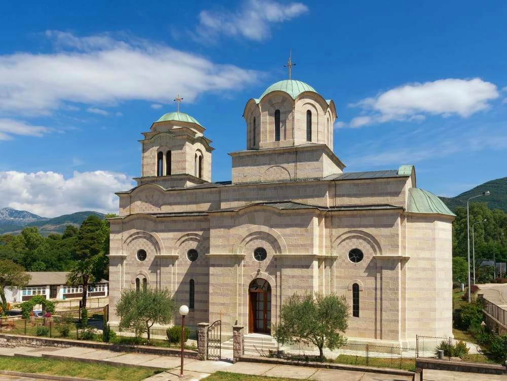 St Sava's Church Tivat