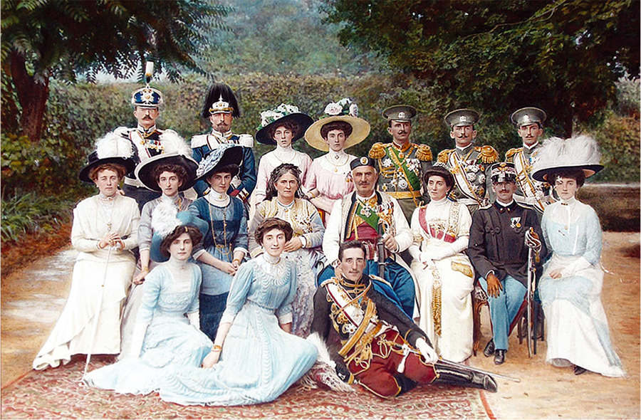 The Royal family of Montenegro
