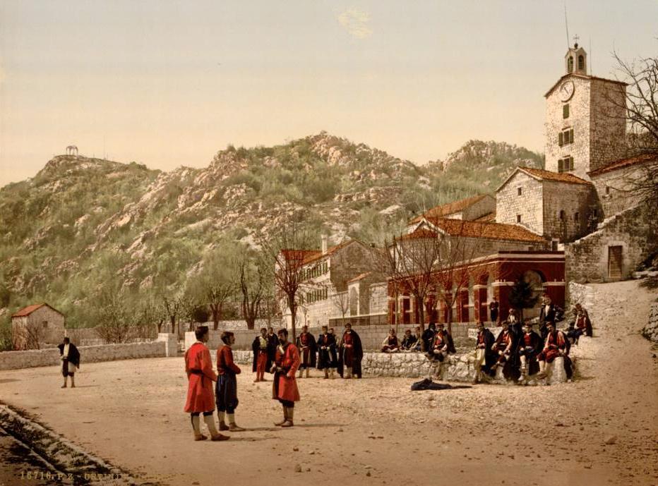 The convent Cetinje Montenegro
