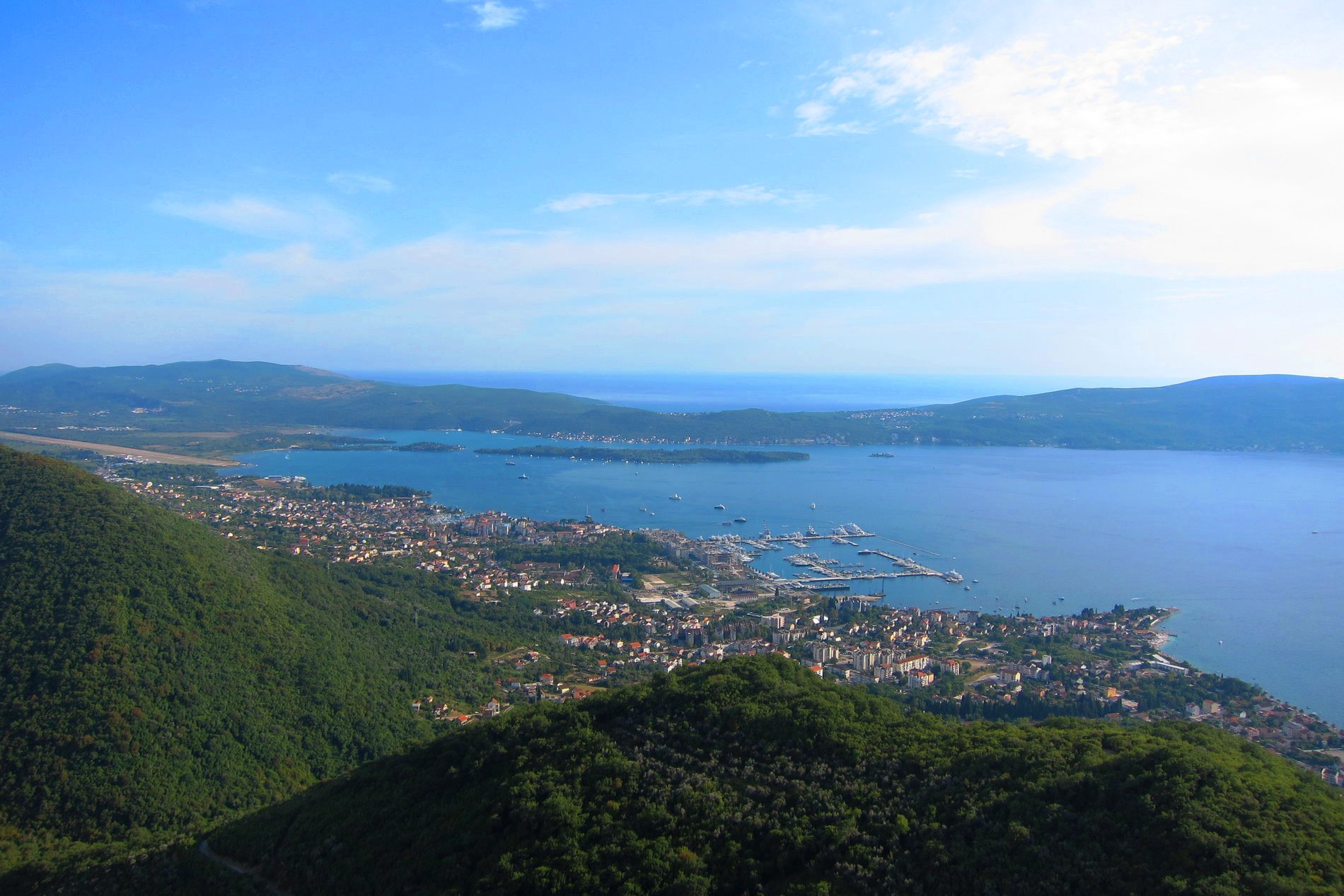 The surroundings of Tivat