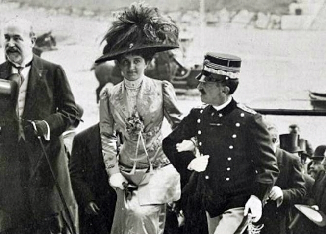 Vittorio Emanuele III e la Regina Elena