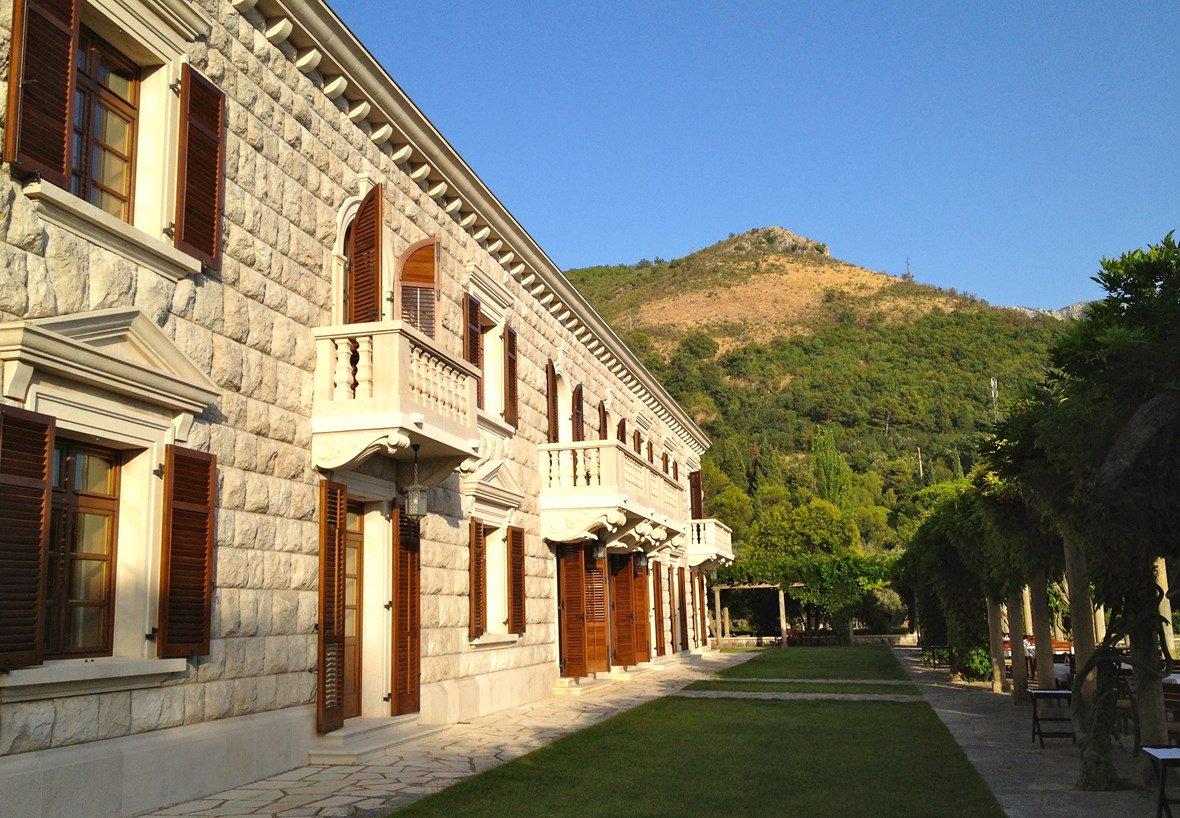 Villa Milocer former royal summer residence
