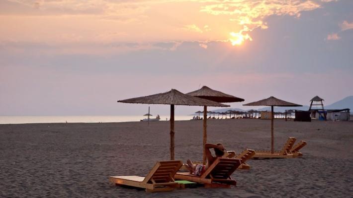 Ada Bojana Insel Montenegro
