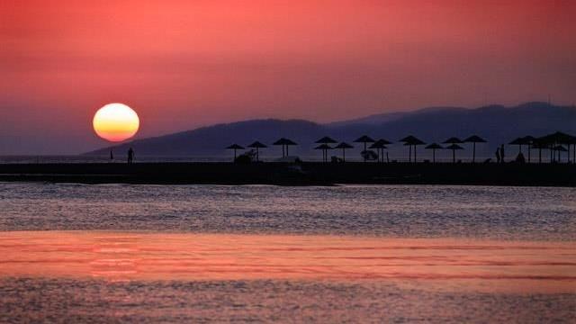 Ada Bojana Montenegro - Sunset