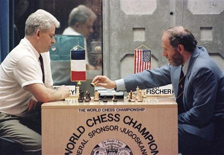 Chess match Bobby Fischer - Boris Spassky, Sveti Stefan 1992