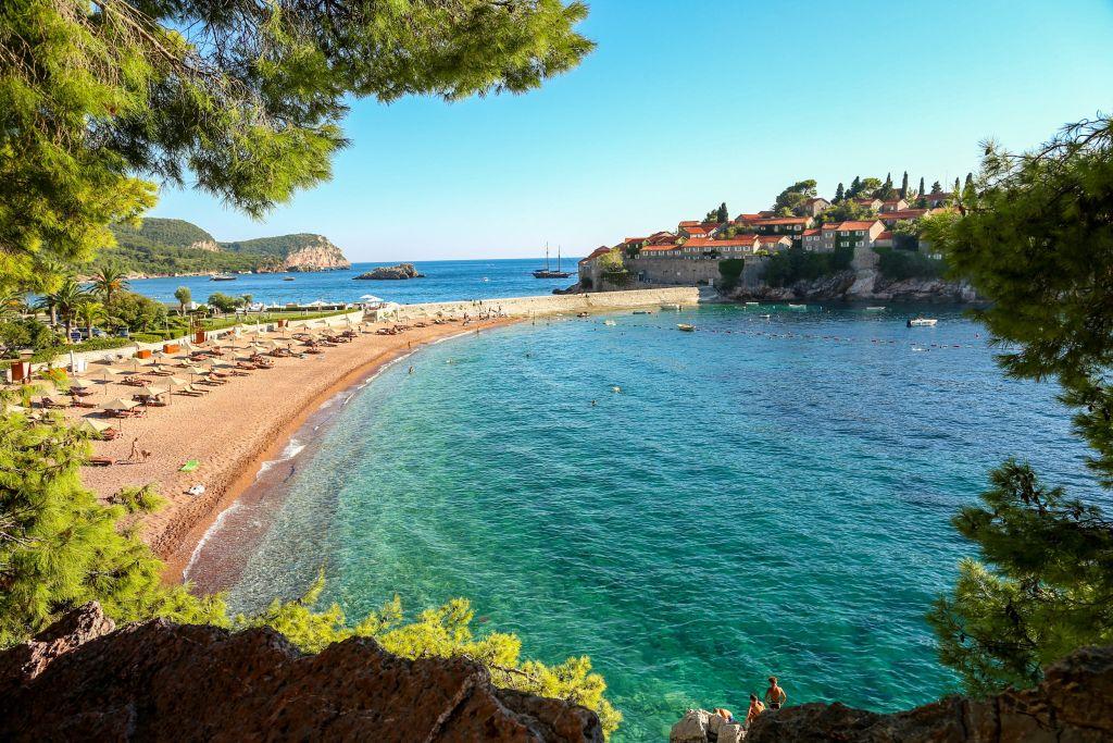 Sveti Stefan Private Hotel Beach