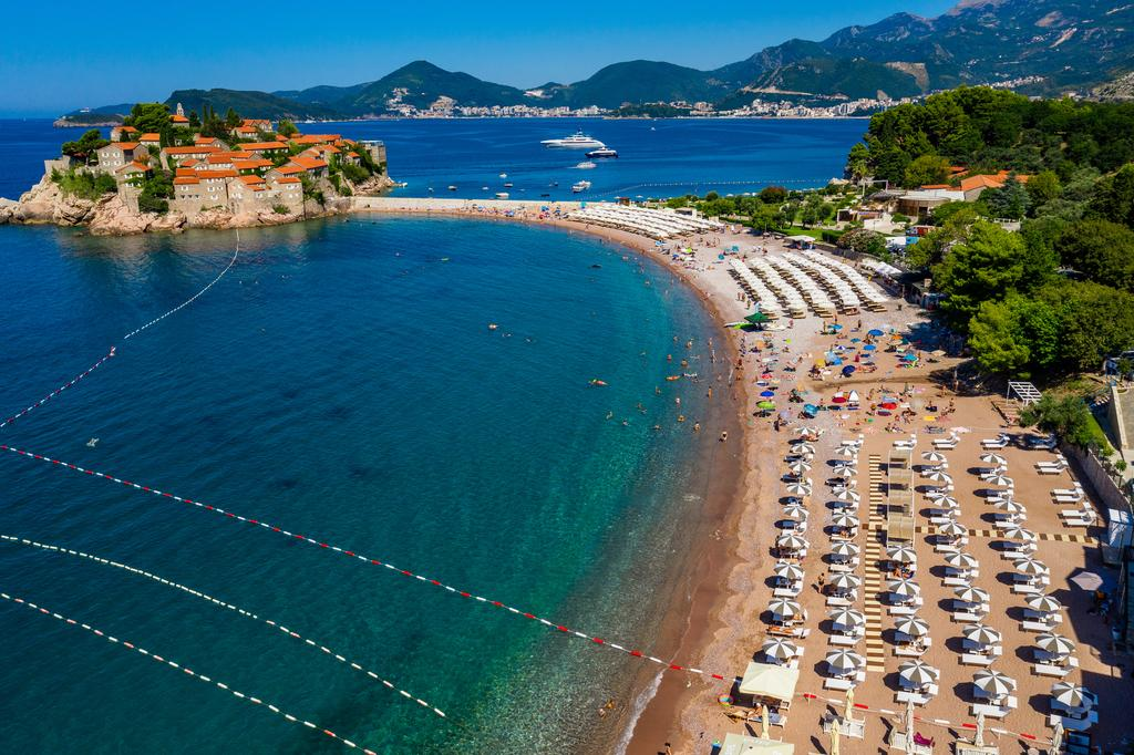 Public Beach Sveti Stefan