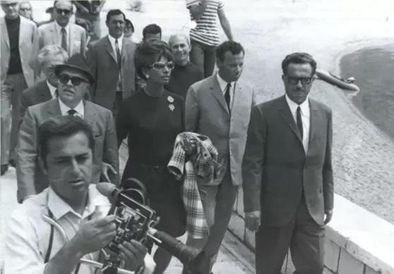 Sophia Loren comes to Sveti Stefan