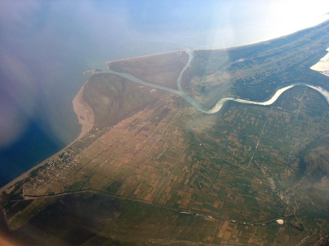 Ada Bojana River Island