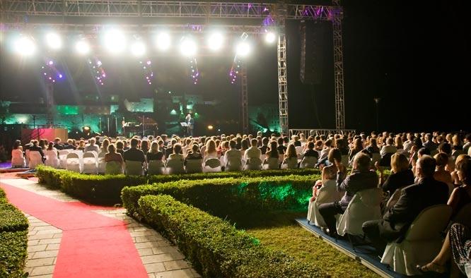 Andrea Bocelli concert at Sveti Stefan