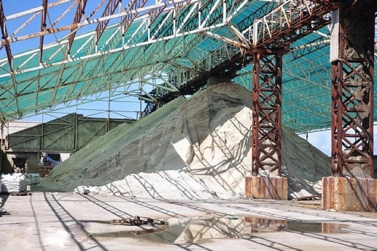 salt in Ulcinj Salina