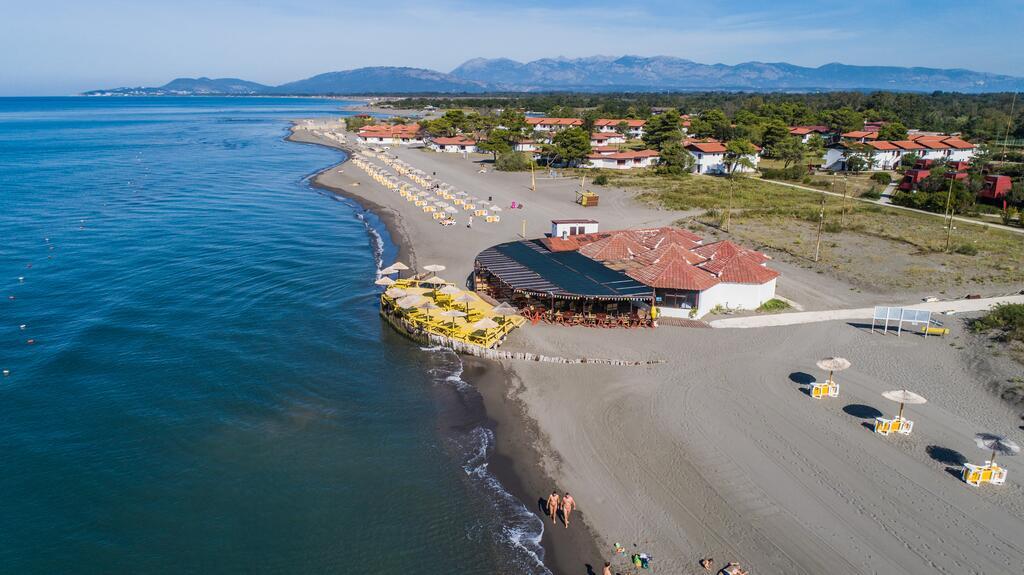 Ada Bojana - Restaurant on the beach