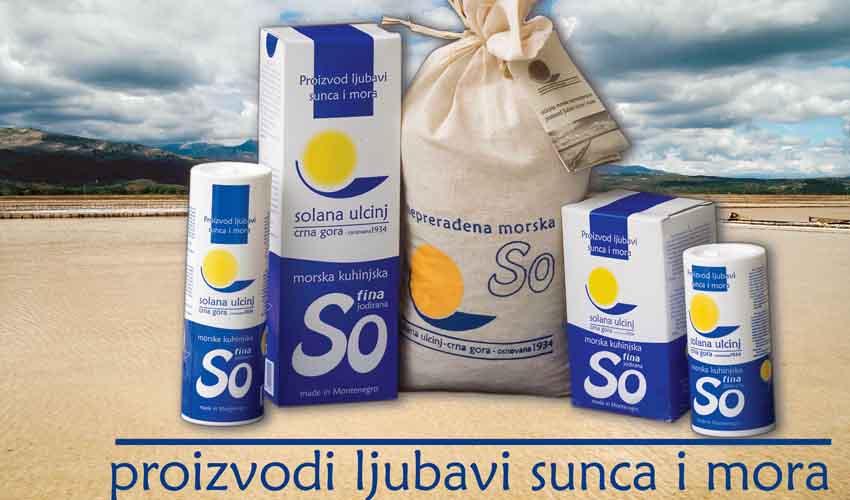 Ulcinj Salina was a well-known Montenegrin brand